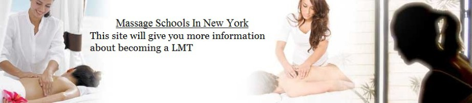 Massage Schools in NY